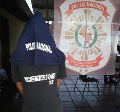 Detienen a peligroso ladrón en Cnel. Oviedo