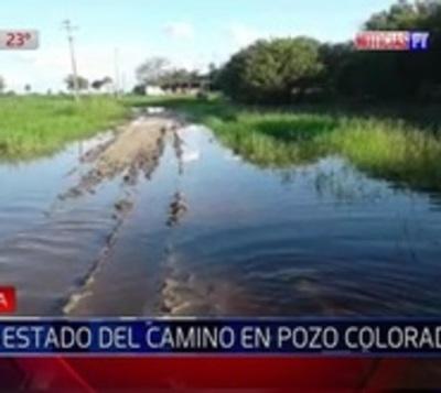 Calamitoso estado de caminos en Pozo Colorado aísla a pobladores