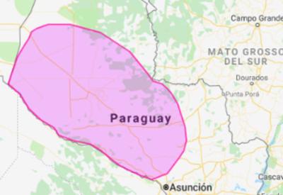 Sistema de tormentas afectará al Chaco y a la zona Norte