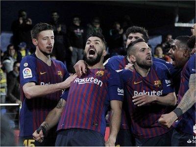 Barcelona reacciona sobre el final y rescata gran empate