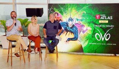 """Cirque du Soleil regresa a Asunción con el show """"Ovo"""""""