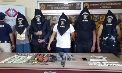 Guardia de seguridad había contratado a delincuentes para robar caja fuerte y fueron detenidos