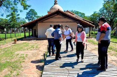 Proyectan la puesta en valor de la Parroquia de San Miguel Arcángel en Misiones