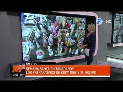 Retablo de Santos en Tañarandy