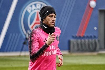 Neymar volvió a entrenar, a dos meses de la Copa América