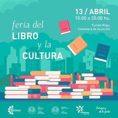 Feria del libro y la Cultura este sábado en la Costanera de Asunción