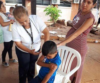Vacunas antigripales para niños ya están disponibles en servicios de salud de Alto Paraná