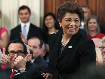 Trump nomina a la primera mujer hispana para su Gabinete
