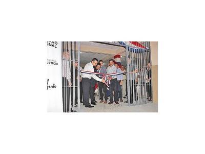 Justicia habilita dos pabellones para albergar a 440 internos en San Pedro