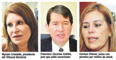 Jueces de otras zonas juzgarán elecciones