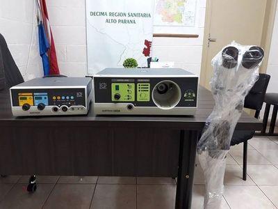 Alto Paraná recibe equipos de alta gama para uso ginecológico