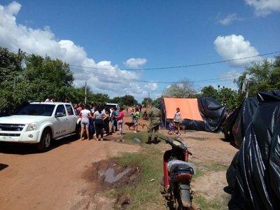 Policías entregan donaciones a damnificados de Concepción