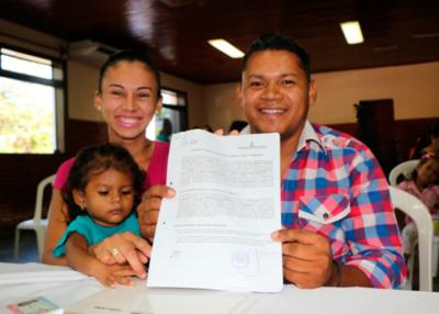 Entregarán contratos de compra venta de inmuebles a familias de Central