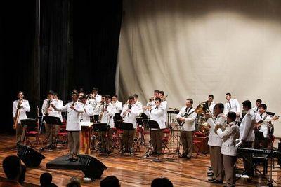 Banda de la Policía Nacional abre temporada de conciertos 2019