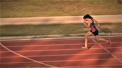 Hiebert: La atleta chaqueña que batió su propio récord nacional