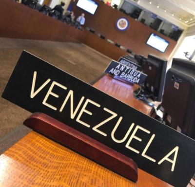 OEA convoca a sesión extraordinaria para tratar situación de Venezuela