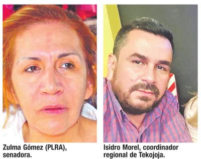 Senadora acusa a Morel de recibir plata de ANR