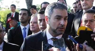 Visita de Pompeo es un voto de confianza al Paraguay, afirma presidente Abdo