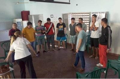Desarrollaron jornada terapéutica en Tacumbú