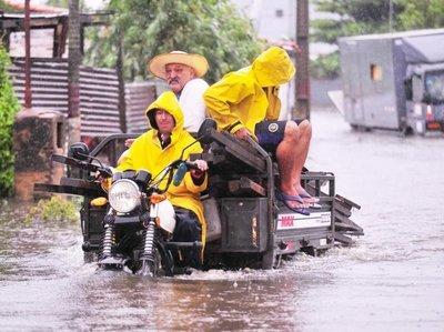 Disminución de lluvias disminuirá subida del río