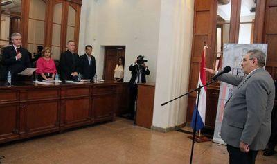 Ministro Antonio Fretes juró como miembro del JEM