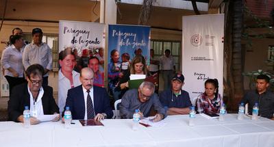 Llegan a acuerdo con manifestantes para regularización de asentamientos en Itapúa