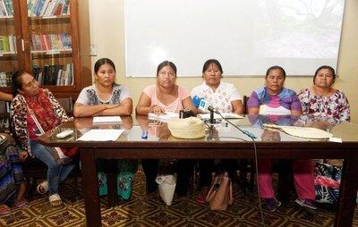 Lideresas del bajo Chaco piden alimentos y ropas