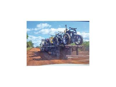 Detave incautó tractores modificados
