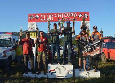 Huber-Osorio sube a lo más alto del podio