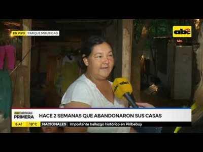 600 familias apostadas en el parque Mburicaó