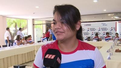 Fedra Florentín, atleta destacada del Chaco habla sobre cómo lograr una beca de la SND