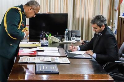 Mandatario cumplirá tareas castrenses en el I Cuerpo de Ejército de Curuguaty
