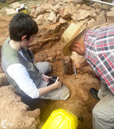 Arqueólogos exploran lo que serían restos del Hospital de Sangre de Piribebuy