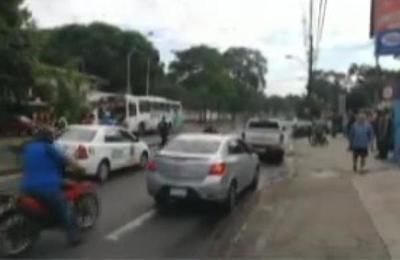 Atropello fatal en barrio Mburicaó