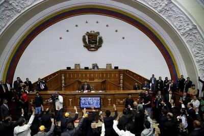 La Asamblea Nacional venezolana afirmó que la economía del país se desplomó un 55,17 % en cinco años