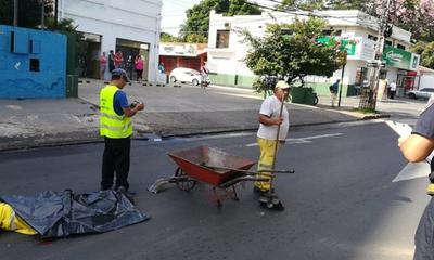 Limpiadora municipal murió arrollada por un camión que perdió los frenos – Prensa 5
