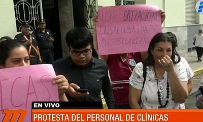 Trabajadores del Hospital de Clínicas exigen un presupuesto digno – Prensa 5