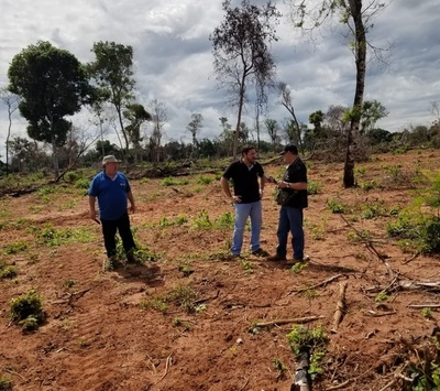 Dos procedimientos de la fiscalía ambiental en Yby Ya´u