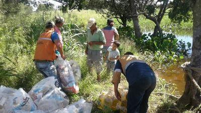 Entregan asistencia de víveres a comunidad protegida por la CIDH