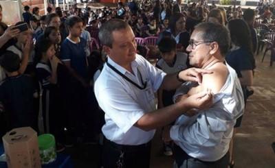 Alto Paraná ya cuenta con las vacunas antigripales