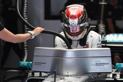 """Hamilton: """"A Bottas se le vio más cómodo"""""""