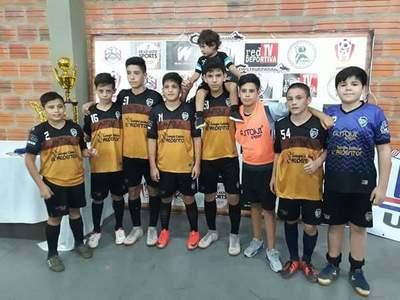 Surgen primeros campeones en torneo de Verano de futsal FIFA