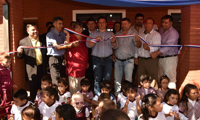 Habilitan obras en escuela Santa Teresita de Campo 9 – Prensa 5