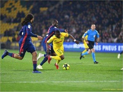 El Nantes acentúa la frustración del Lyon