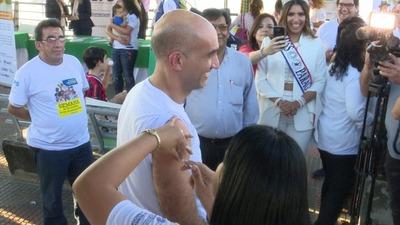 Lanzan semana de vacunación de las Américas en Paraguay