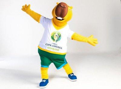 Zizito, la mascota de la Copa América