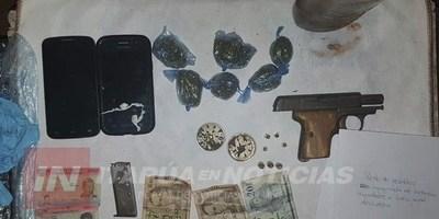ALLANAN UNA VIVIENDA E INCAUTARON DROGAS EN ITÁ PASO