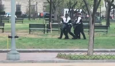 EE.UU.: Hombre intenta prenderse fuego frente a la Casa Blanca
