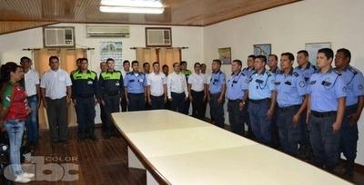 Nuevos policías municipales para el Chaco Central