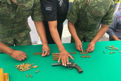 Ciudad de México recolecta más de 1.800 armas entregadas por los ciudadanos